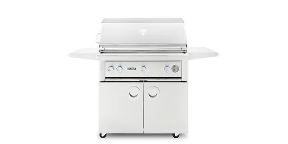 "Lynx SMART36F 36"" Freestanding Propane Or Natural Gas SmartGrill With Rotisserie"