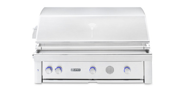 """Lynx SMART42 42"""" Built-In Propane Or Natural Gas SmartGrill With Rotisserie"""