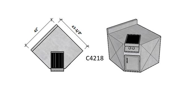 Side 1 Backsplash – Side 2 Standard