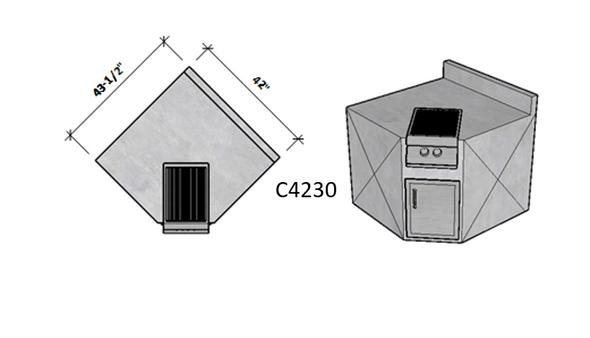 Side 1 Standard – Side 2 Backsplash