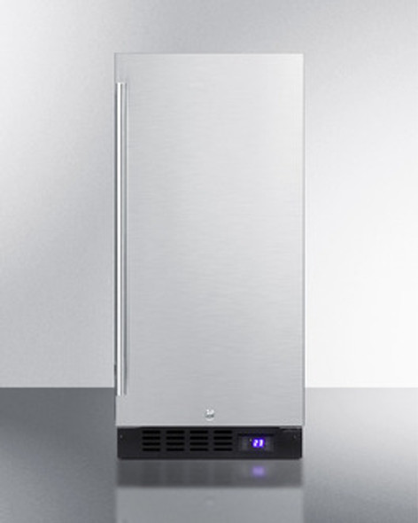 "Summit 15"" Built-In All-Freezer"