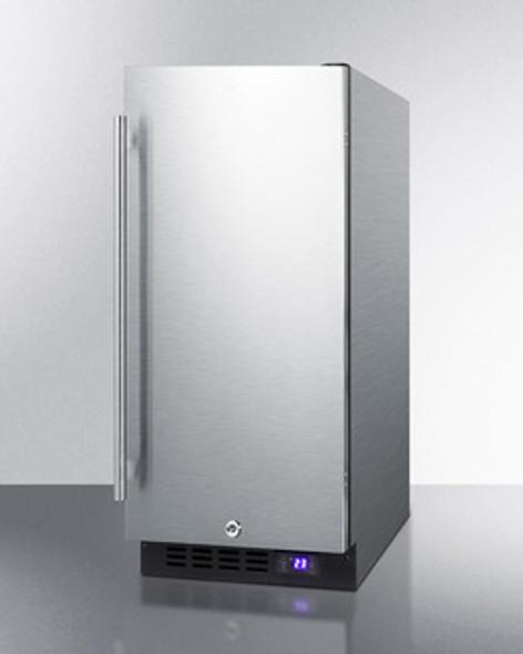 "Summit 15"" Built-In All-Freezer"