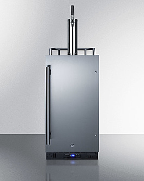 "Summit 15"" Wide Built-In Kegerator"