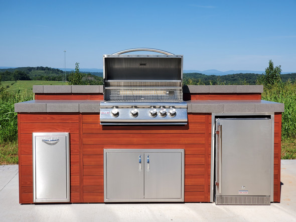 50% OFF Luxury Finished Outdoor Kitchen **Display Model**