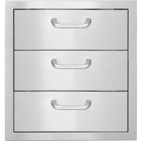 "Big Ridge Premium Series 17"" X 24"" Triple Access Drawer W/ paper Towel Dispenser"