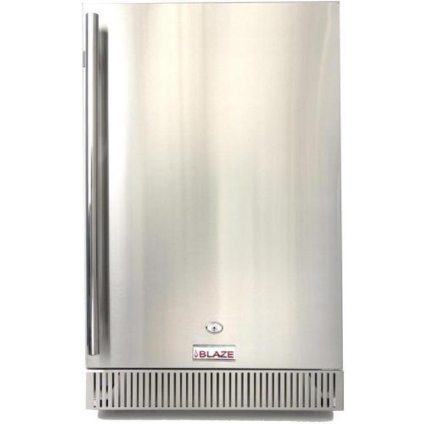 Blaze BLZ-SSRF-40DH 20 Inch Outdoor Rated Stainless Steel Refrigerator 4.1 CU FT.-UL Approved