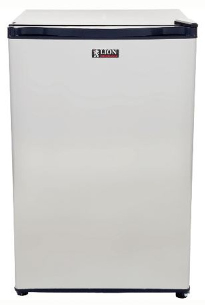 Lion 2002 4.5 Cu. Ft. Stainless Steel Compact Refrigerator