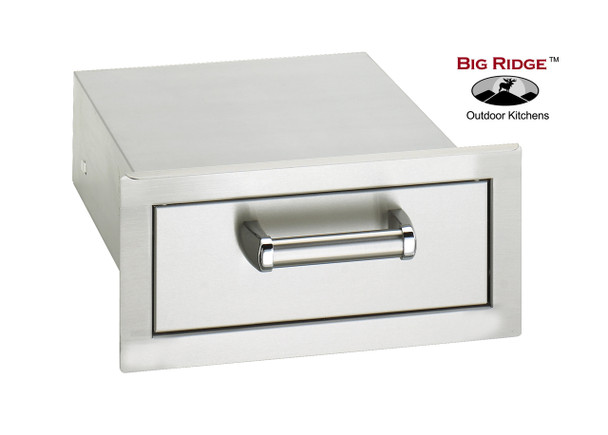 Fire Magic 53801SC Premium Flush Mount 14 Inch Single Access Drawer