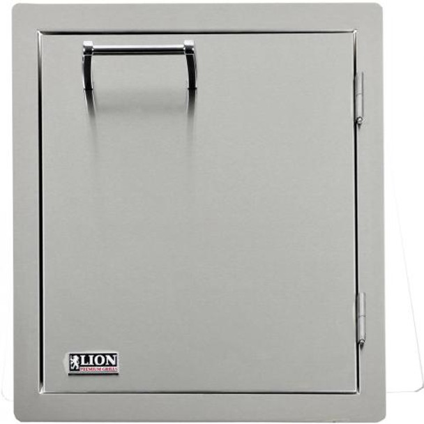 Lion L62945 17-Inch Vertical Access Door With Towel Rack