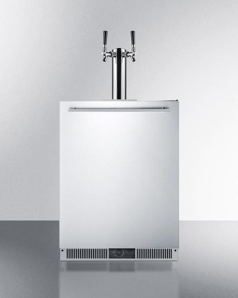 Summit SBC590OS Dual Tap Built-In Beer Dispenser