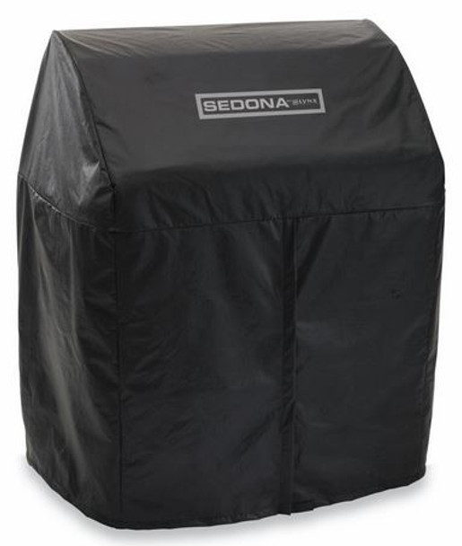 """Sedona By Lynx VC500F Vinyl Grill Cover For 30"""" L500 Gas Grill On Cart"""