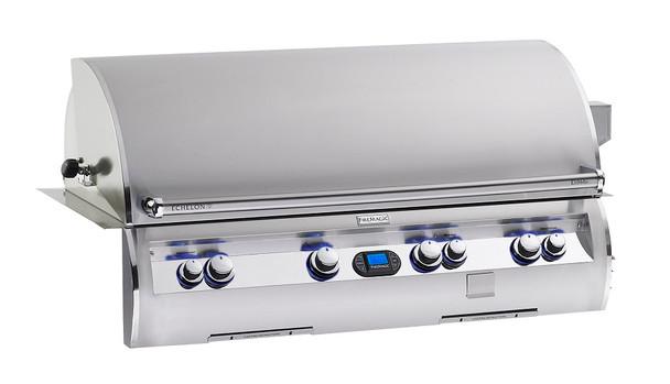 Fire Magic E1060i-4E1N Echelon Diamond 48-Inch Built In Grill With Rotisserie Back Burners