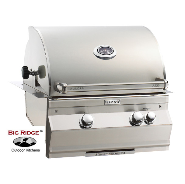 Fire Magic A430 Grill With Analog Thermometer