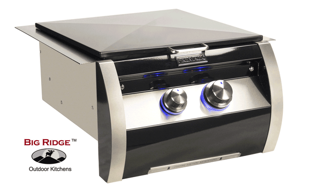 Fire Magic 19-HB1N-0 Echelon Black Diamond Gas Built-In Power Burner With Stainless Steel Grid