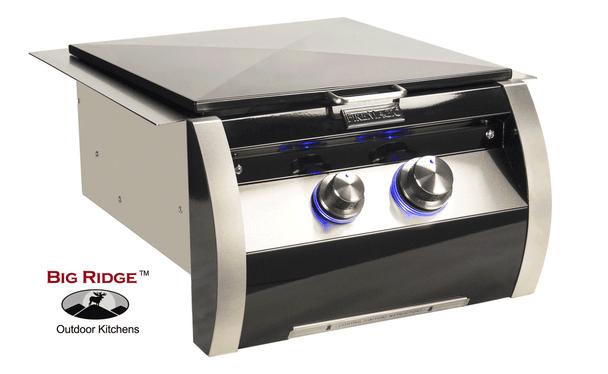 Fire Magic 19-HB1N-0 Echelon Black Diamond Gas Built-In Power Burner With Stainless Steel Grid