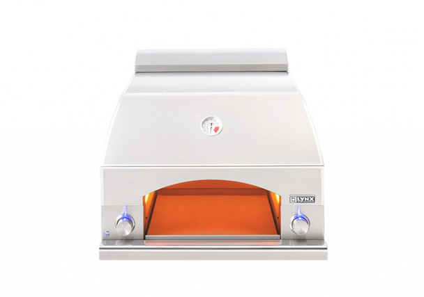 Lynx LPZA Professional Napoli Propane Or Natural Gas Pizza Oven - Built-In / Counter Top