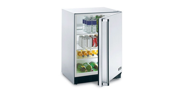 Lynx LM24REF L/R Professional 24-Inch  Stainless Steel 5.5 Cu. Ft. Compact Refrigerator - Left Or Right Hinge