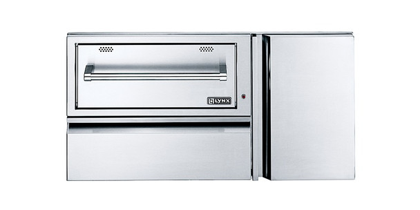 Lynx L42CC-1 Professional 42-Inch Convenience Center With Built-In 120V Electric Warming Drawer & Propane Tank Storage