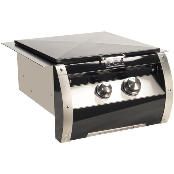 Fire Magic 19-HB2N-0 Echelon Black Diamond Gas Built-In Power Burner With Porcelain Cast Grid
