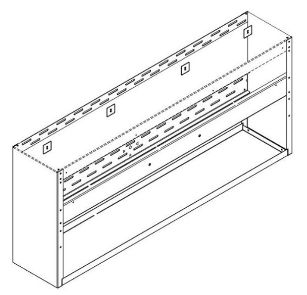 Fire Magic 60-VH-7-02 Spacer For 60-Inch Vent Hood