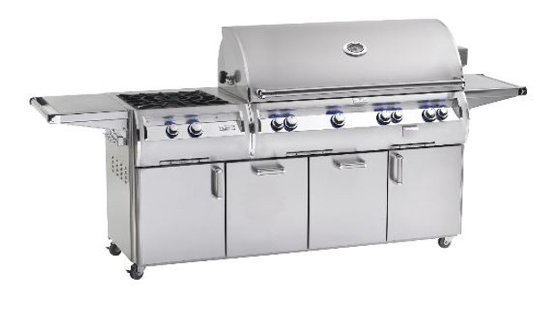 Fire Magic E1060s-4EAN-51 Echelon Diamond 48-Inch Freestanding Gas Grill With Analog Thermometer And Power Burner
