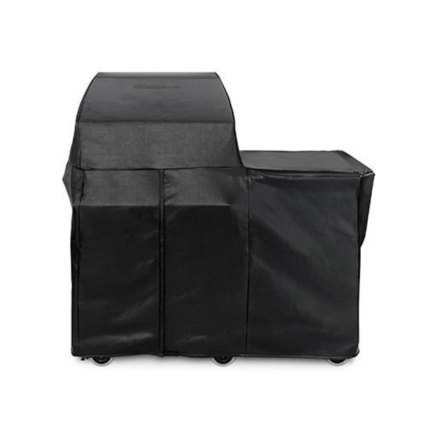Lynx CCSMKM Custom Cover For Freestanding Smoker On Mobile Kitchen Cart