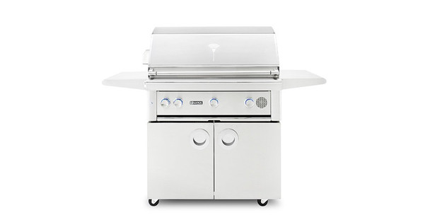 """Lynx SMART36F 36"""" Freestanding Propane Or Natural Gas SmartGrill With Rotisserie"""