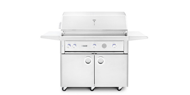 """Lynx SMART42F 42"""" Freestanding Propane Or Natural Gas SmartGrill With Rotisserie"""