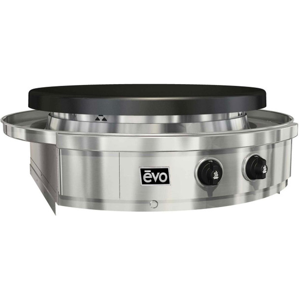 Evo 10-0055-LP & 10-0055-NG Affinity Classic 30G Built-In Flattop Propane Or Natural Gas Grill