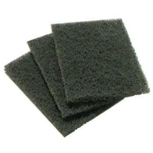 Evo 13-0110-AC Replacement Cooking Surface Cleaning Pad Gray 10 Pack