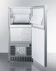"""Summit 15"""" 62 lb. Clear Outdoor/Indoor Icemaker With Pump"""