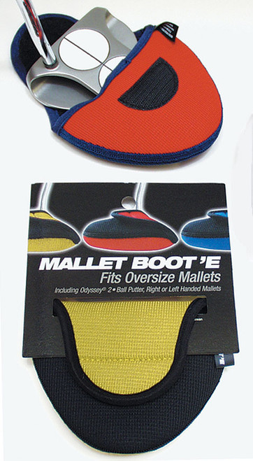 """Mallet """"Boot'E"""" Putter Cover by Stealth Club Covers, 10 Colors"""