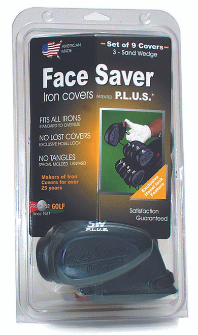 """""""Face Saver P.L.U.S."""" Iron Covers...Set of 9 Covers"""