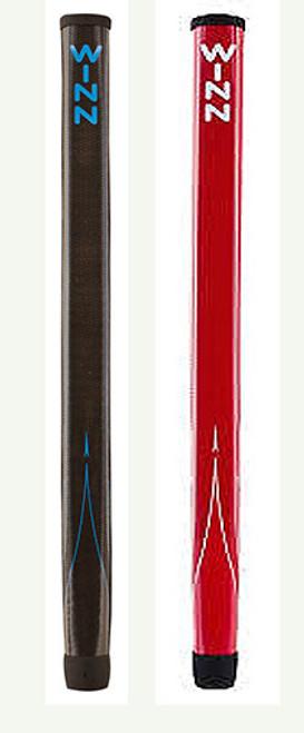 """""""Winn"""" Counter Balance 15"""" Pistol Putter Grip Black or Red"""
