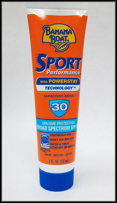 """Banana Boat"" Sport Sunscreen SPF30, 1 Ounce Tube"
