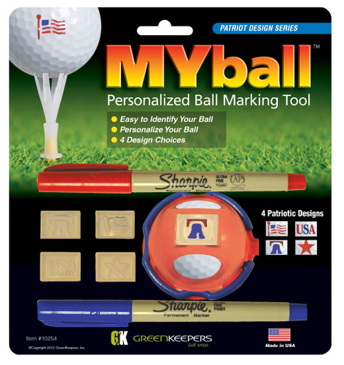 """My Ball"" Marker"