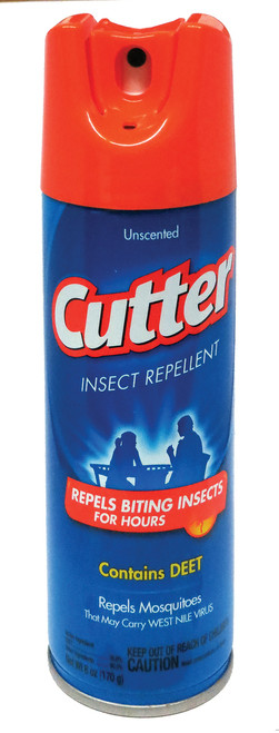 """""""Cutter"""" Insect Repelent  6oz."""