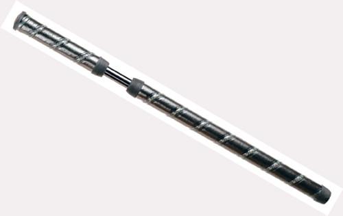 """""""Winn"""" 2-Piece Round, Belly Grip (#2PWR-BKG) Black/Gray"""