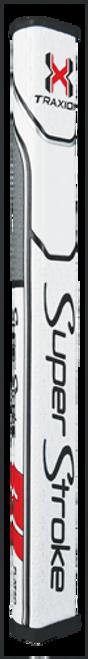 """Super Stroke"" Traxion Flatso Putter White/Red/Gray 1.0..2.0..3.0"