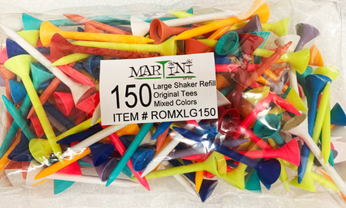 """""""Martini Tee"""" Refill tee pack (150) for the large shaker. Saves $$"""