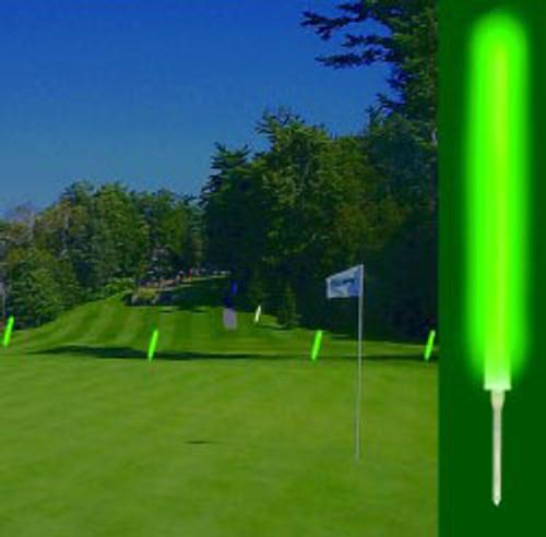 """Glow Marker, 12"""" glow stick. Identify tee area, dog leg direction, etc."""