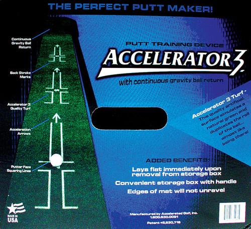 """""""Accelerator 3"""" Putt Mat, Best putting """"grass"""", Great instructions, 110""""x12"""""""