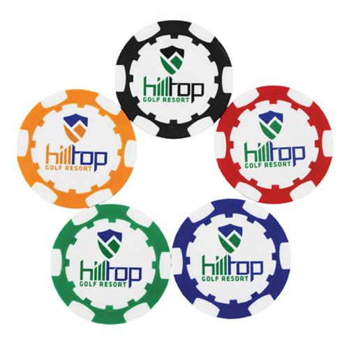 Poker Chips, Standard (No Ball Marker), 100 Minimum