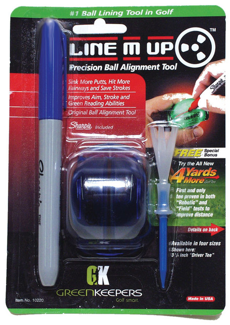 """""""Line M Up"""" Standard Ball Marker,  So easy to use!"""