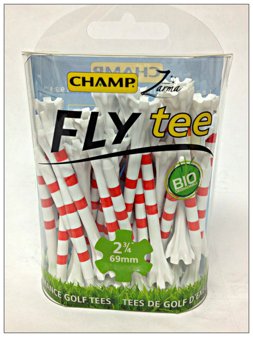 """""""Flytees""""  2 3/4"""" """" My Hite"""" Striped Tees,  30 Pack,  5 Color Combinations"""