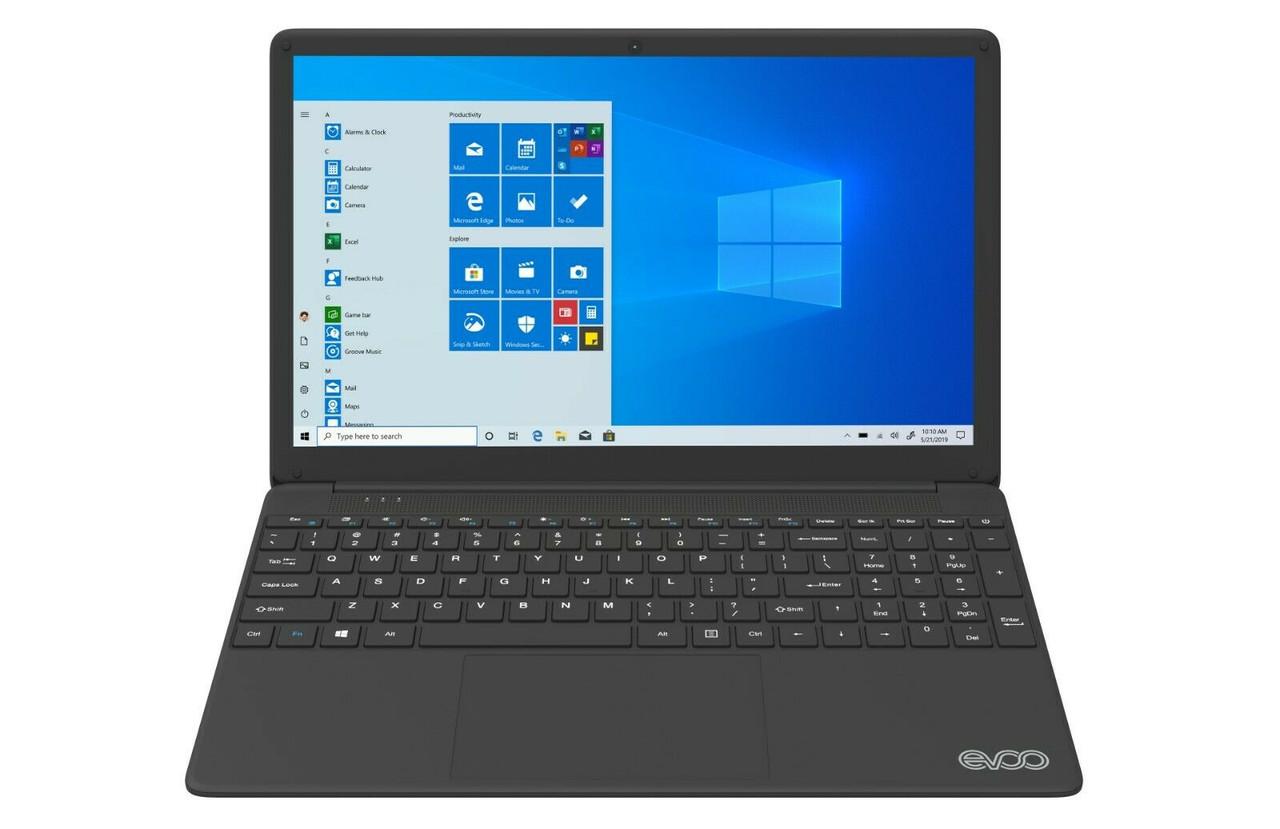 """EVOO 15.6"""" Ultra Thin Notebook Intel i7, 1080p, 256GB SSD, 8GB RAM"""