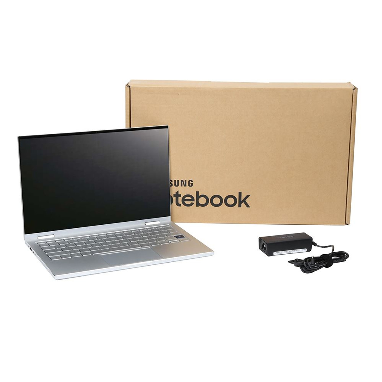 Samsung Galaxy Book Flex a 2-in-1 13.3 Laptop Computer - Silver Intel Core i5-10210U Processor 1.6GHz; 8GB RAM; 256GB Solid State Drive; Intel UHD Graphics