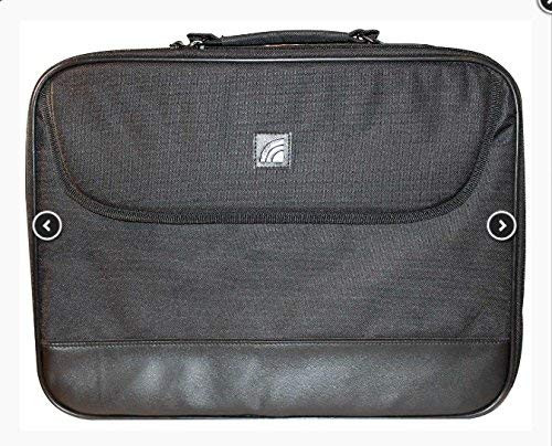 """Laptop Briefcase Bag Fits Screens up to 15.6"""" Black"""