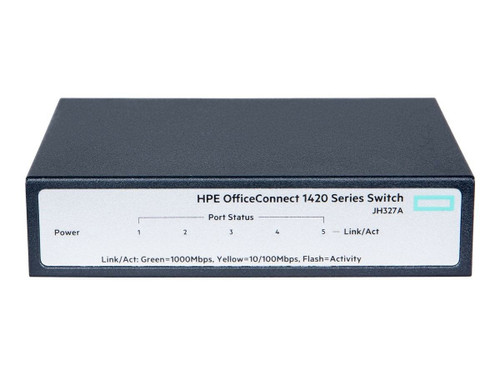 Hewlett Packard OfficeConnect 1420 5G Switch - Model JH327A
