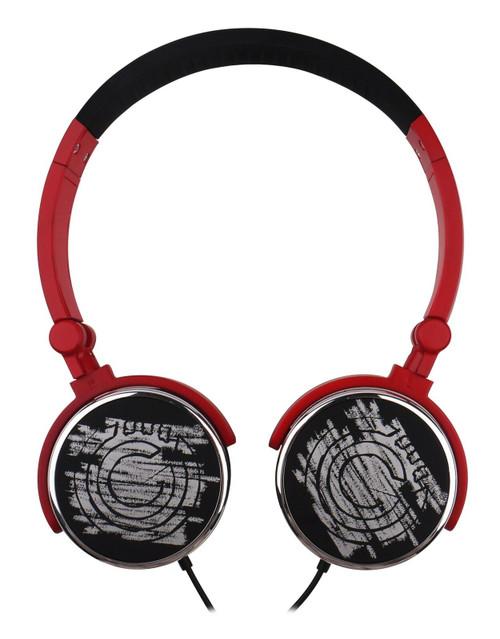 G-Cube G-POP II Dual Mode Foldable Headphones - Red